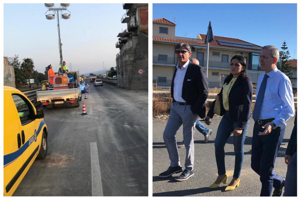 """Ponte Graci, dalla Regione 2,3 mln per la ricostruzione: M5S chiede """"grande rotatoria"""""""