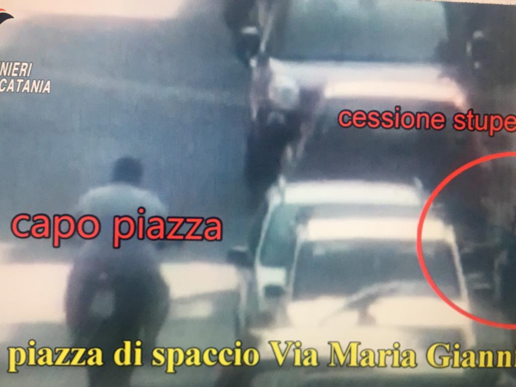 Catania, a Picanello piazze di spaccio nelle mani di 'Zecchinetta' e Pulvirenti: le foto e le immagini dell'operazione Eredità (VIDEO)