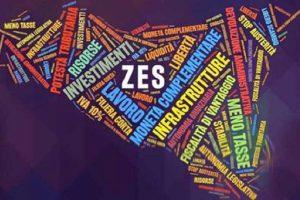 Zes, visione programmatica per utilizzare lo 'svantaggio': dimensionamento territoriale per ripescare le aree escluse