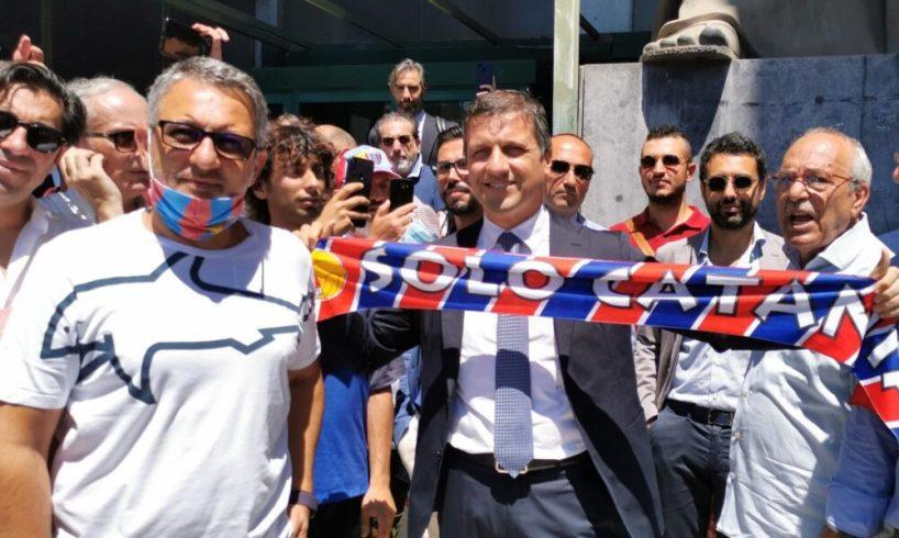 Calcio Catania, Sigi è ufficialmente azionista di maggioranza: sottoscritto l'atto di compravendita