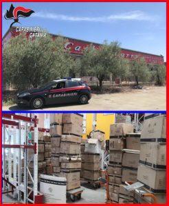 Belpasso, 4 paternesi arrestati in flagranza: stavano svuotando il deposito di un supermercato