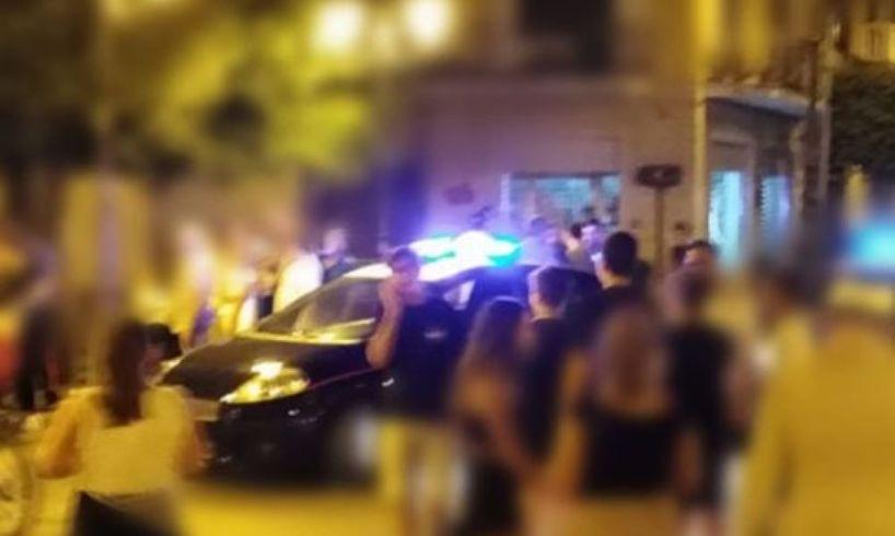 Paternò, calci e pugni nei luoghi della movida: 4 giovani denunciati per rissa
