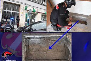 Catania, un buco nel solaio della casa attigua alla banca: all'ultimo metro i Carabinieri sventano la rapina