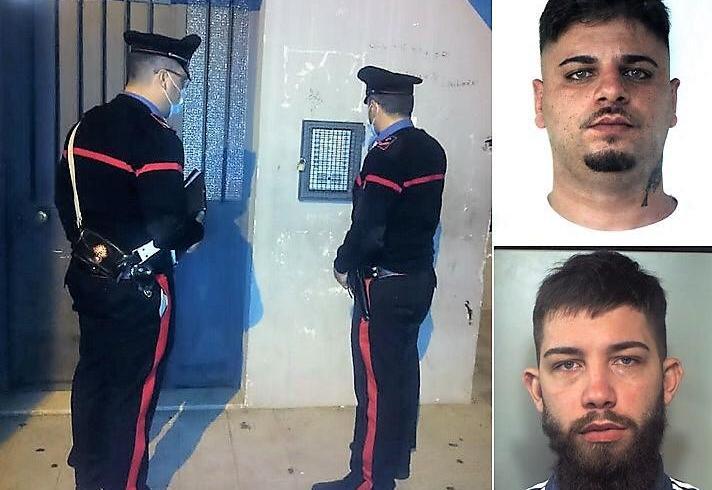 Catania, verifiche ai 'detenuti' in casa: due arresti dell'Arma