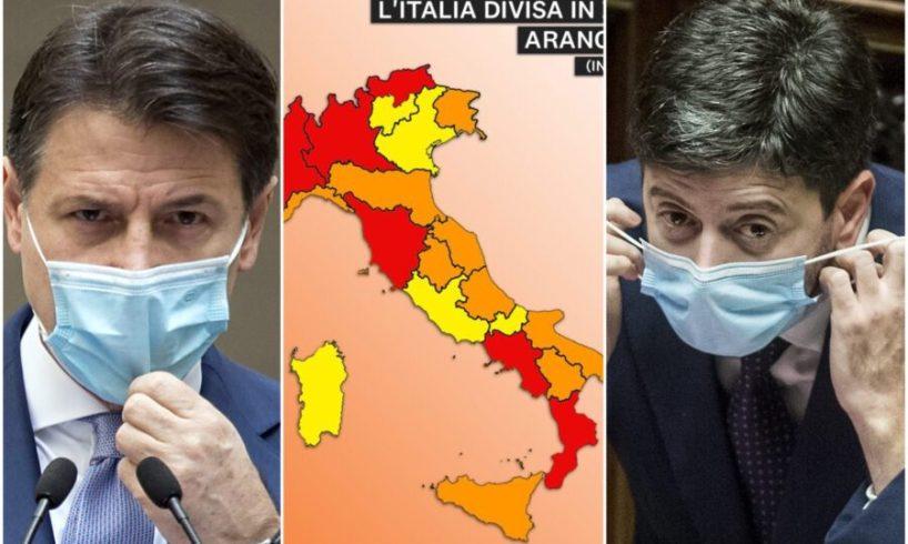 """Covid, Campania e Toscana zona rossa. Speranza: """"Nessuna pagella alle regioni. La luce in fondo al tunnel si vede"""""""