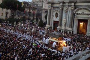 Catania, il covid fa saltare la festa di S. Agata: in programma solo alcuni momenti religiosi