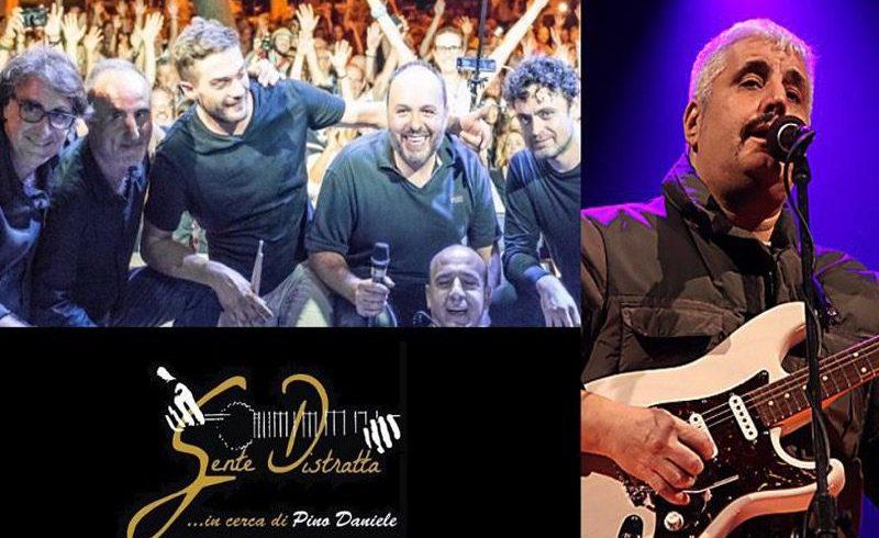 Omaggio a Pino Daniele in un concerto-spettacolo del gruppo 'Gente Distratta': domenica in diretta streaming