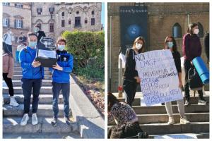 """A Catania e Palermo protesta di docenti e studenti di Scienze motorie: """"Prevedere insegnanti nelle scuole primarie"""""""