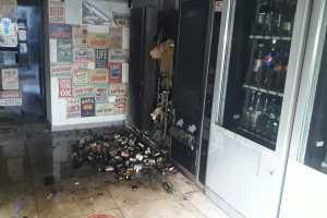 Paternò, incendiato distributore automatico di bevande in locale di via Nicolosi: probabile matrice dolosa