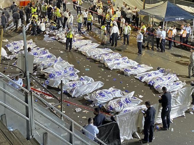 Israele, finisce in tragedia festa religiosa: almeno 44 i morti