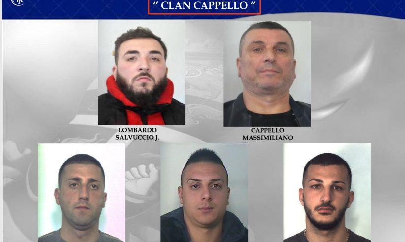 Catania, la guerra di mafia a Librino: i nomi e le foto degli arrestati dell'Operazione Centauri