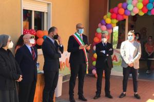 Biancavilla, inaugurato il primo asilo nido comunale 'Domenico Savio': alla cerimonia l'assessore regionale Scavone