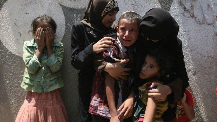 """Unicef: """"A Gaza un milione di bambini subisce le conseguenze di un conflitto violento. Cessino le ostilità"""""""