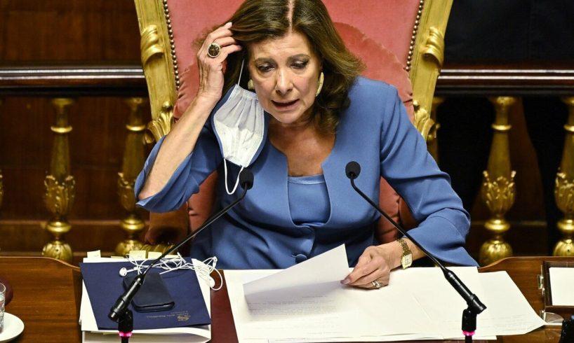 """Senato, Casellati: """"Sui voli di Stato non ho violato alcuna legge. Non sono io a decidere sulla mia sicurezza"""""""