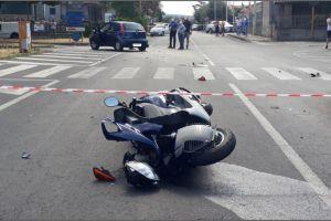 S. M. di Licodia, incidente in viale Aldo Moro: morto il 20enne a bordo dello scooter