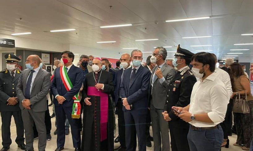 """Catania, inaugurata la stazione Cibali della Metropolitana. Pogliese: """"Un altro tassello della grande rete di trasporto"""""""