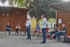 Adrano, agricoltura e legalità: nel Giardino della Vittoria incontro dei Giovani Democratici