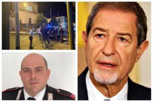 Catania, rissa alla Prima Comunione: Musumeci visita in ospedale il vicebrigadiere Grasso