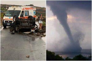 Pantelleria, 2 morti per la tromba d'aria: sindaco proclama lutto cittadino