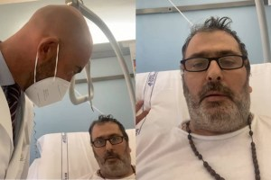 Un no vax covid pentito e il prof Matteo Bassetti insieme in un video destinato ai 'negazionisti' del coronavirus che non vogliono vaccinarsi.