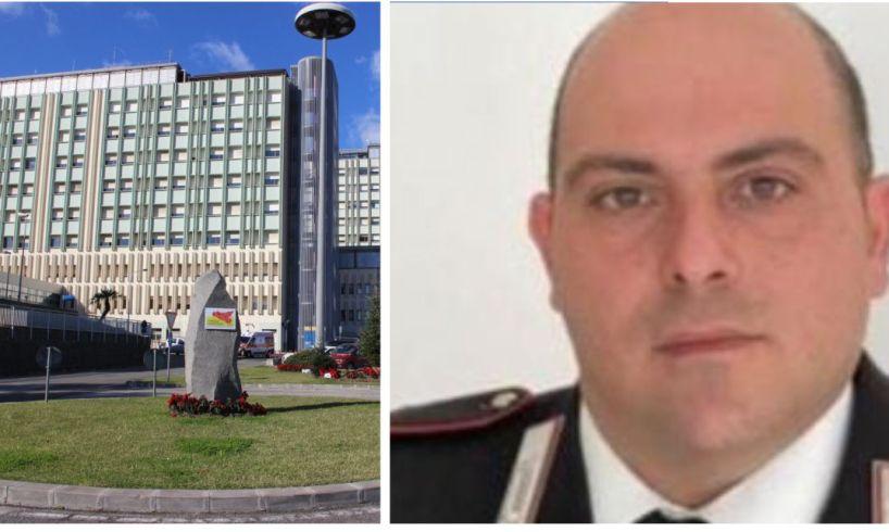 Catania, trasferito all'Unità spinale del 'Cannizzaro' il carabiniere ferito alla comunione ad Acireale