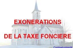 Exonération de la taxe foncière : toutes les possibilités en 2019!