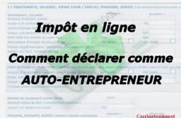 Auto-entrepreneur : comment remplir la déclaration d'impôt 2021 sur les revenus? Montant, case et accès au formulaire 2042C.
