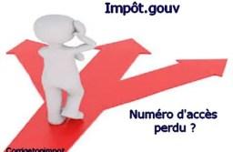 Impôt : numéro d'accès en ligne perdu… que faire?