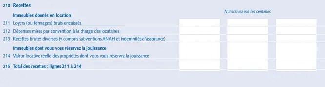 La Declaration Des Revenus Fonciers 2044 Demarche En Ligne
