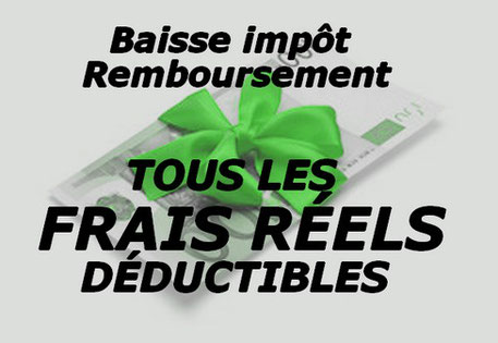 Tous Les Frais Reels 2019 Deductibles Des Impots Regles Et Calculs