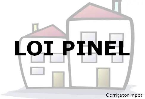 """Immeubles en fond avec les mots """"LOI PINEL"""" écrit au centre."""