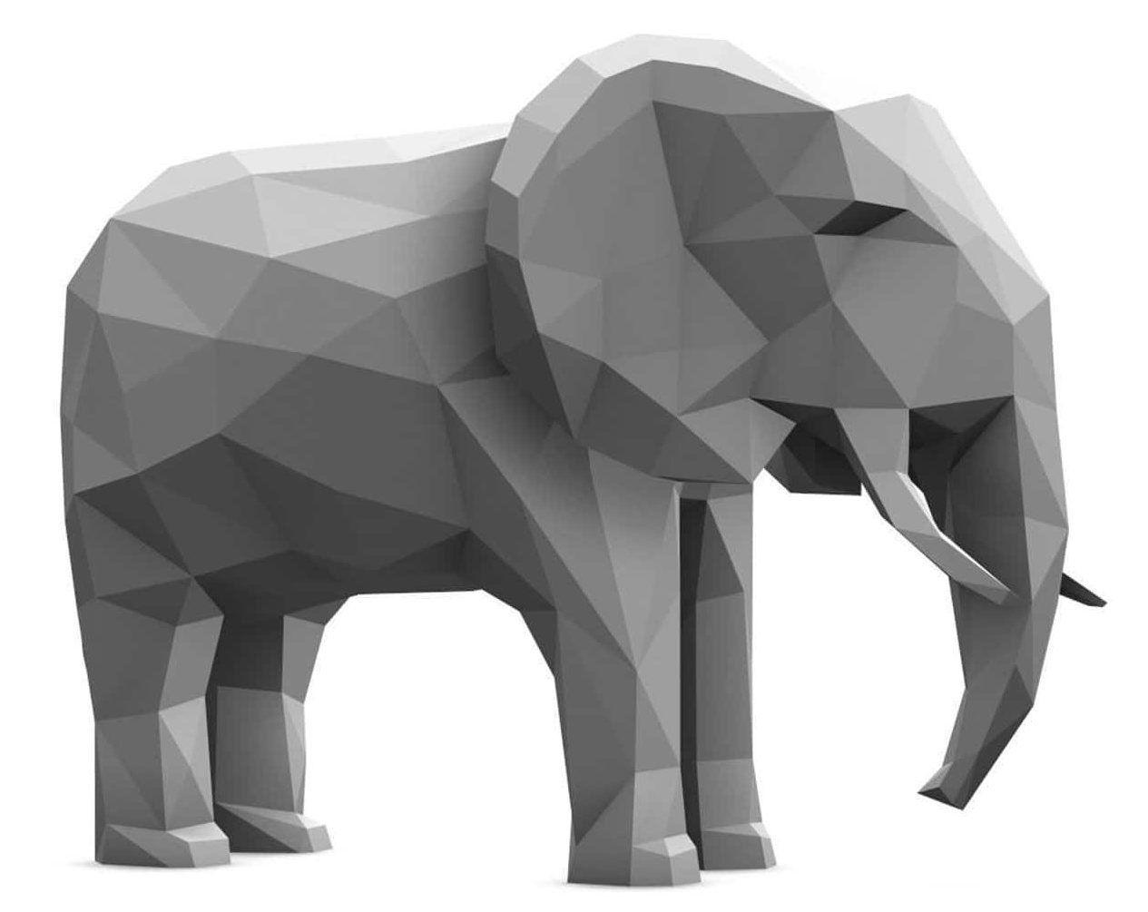Éléphant icône