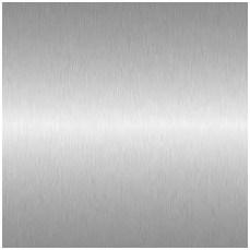 aluminum steel finish