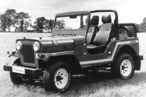 the supply of Mahindra Jeeps
