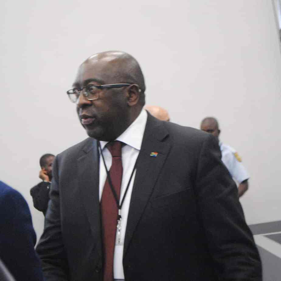 Former finance minister Nhlanhla Nene appears before the Zondo Commission