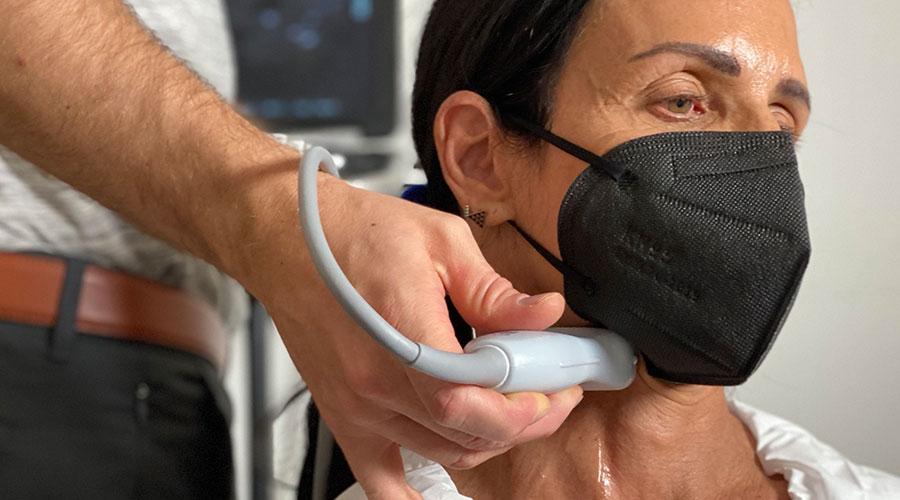 C-IMT Ultrasound Scan