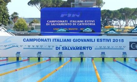 Campionati italiani di categoria estivi di salvamento 2015
