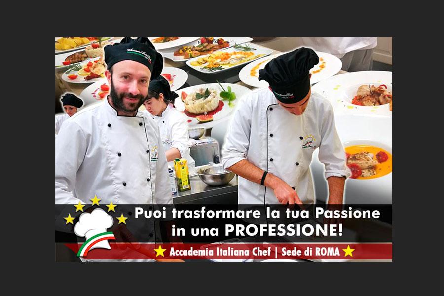 Nuovo Corso di Cuoco Professionista Roma