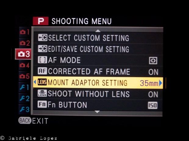 Fuji x-pro Leica