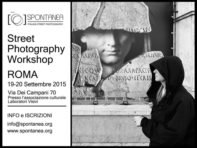 workshop street photography Roma