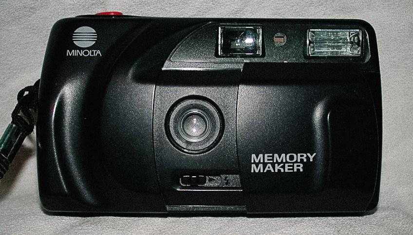 minolta memory maker camera