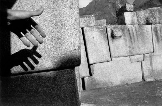 PERU. Cuzco. Saxahuam fortress. Megalithic stone work. 1960.