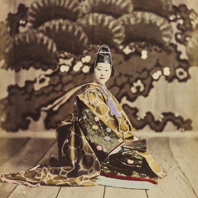geisha felice beato