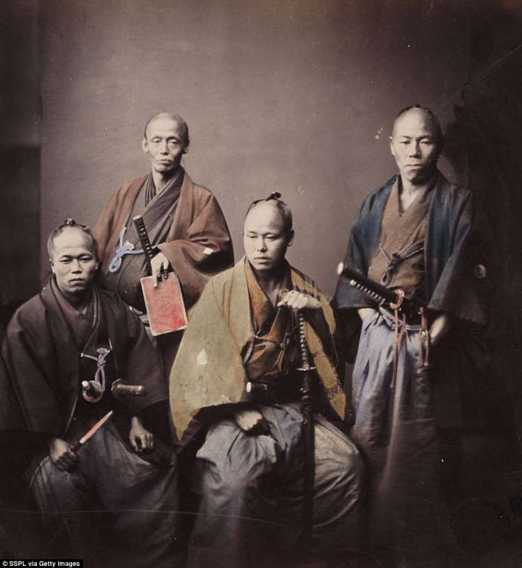 guerrieri samurai felice beato