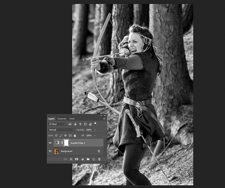 Un esempio di come l'immagine dovrebbe apparire con l'applicazione di questo metodo e senza alcuna modifica