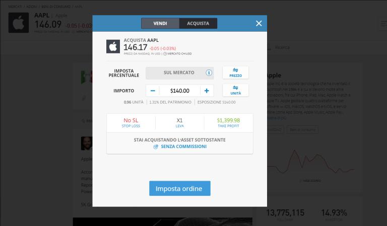investire in azioni apple