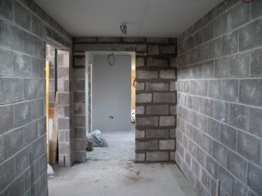Nearing Completion - Gents Locker Room