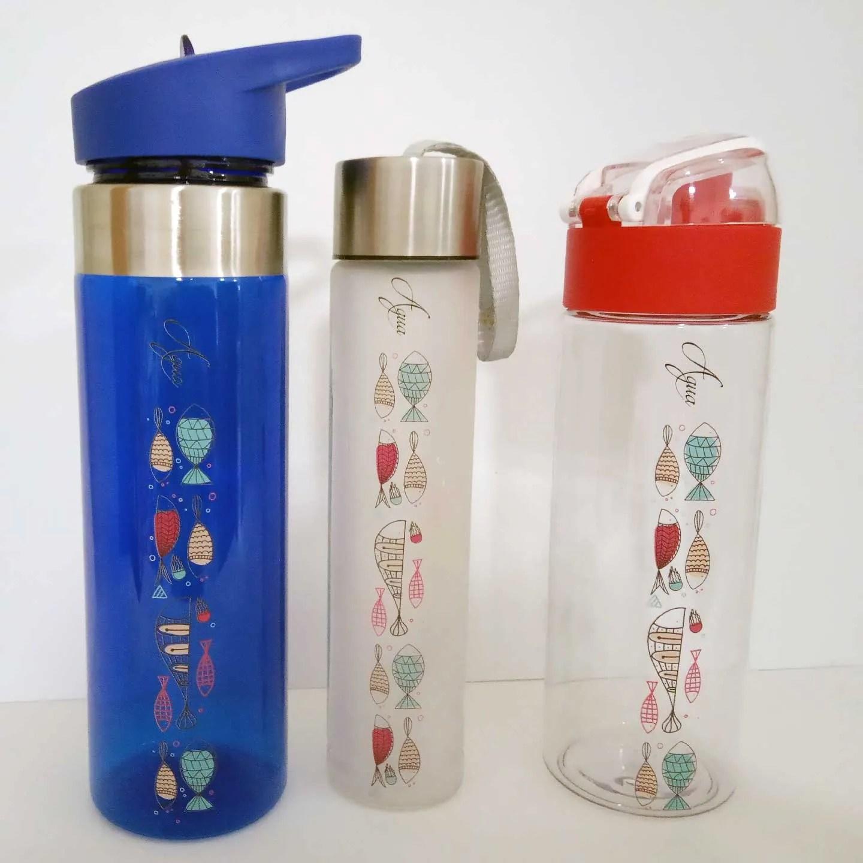 Botella tritan