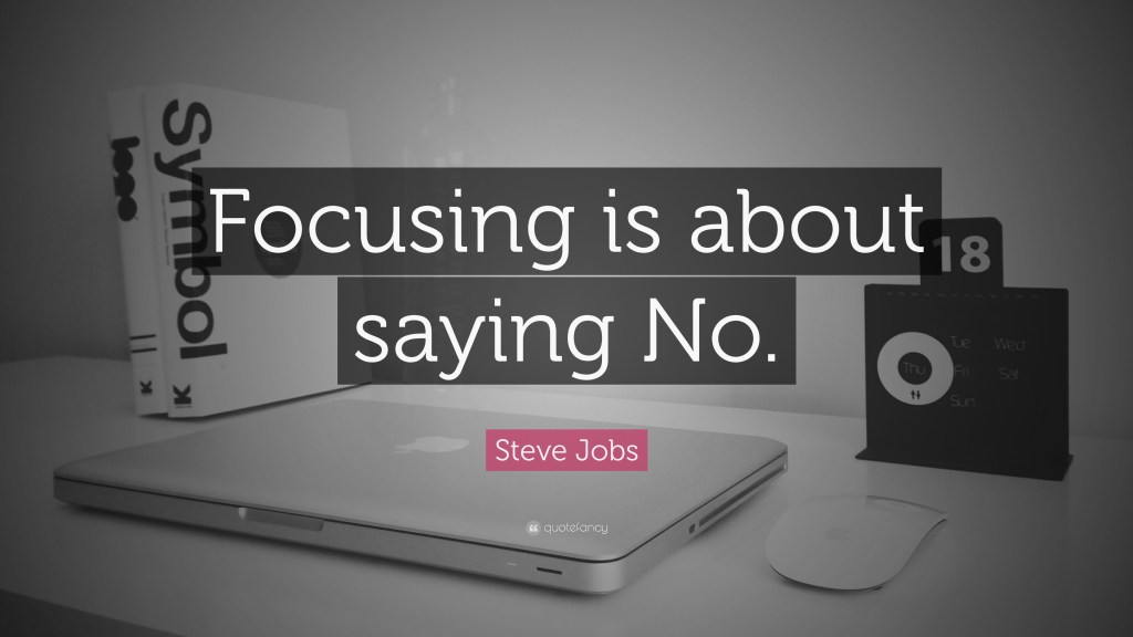 Telemedicine Video Doctor Nurse Visits Workers Comp Illinois - Peter D. Corti - Focus is about saying No - Steve Jobs - Quote
