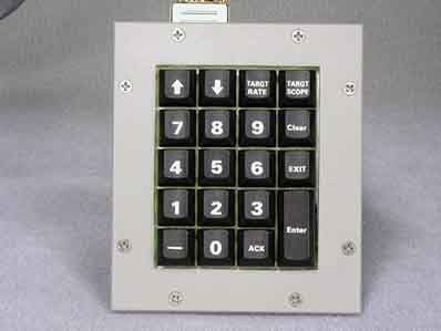 Cortron Model KP19 Keypad No Pointing Device  Backlit Panel Mount Enclosure